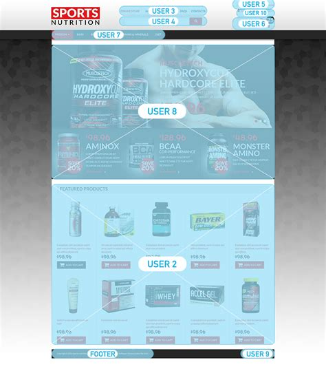 sports nutrition supplements virtuemart template 49454