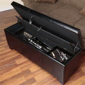 gun cabinet bench american furniture classics gun concealment bench
