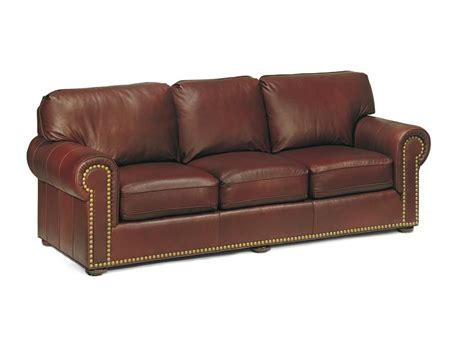 reddish brown leather sofa sofas leather sleeper dark