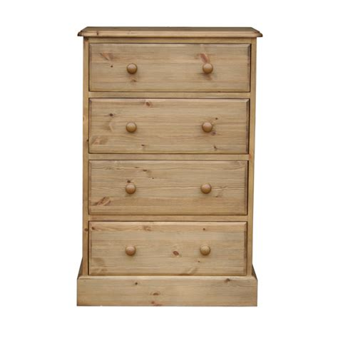 Pine 4 Drawer Chest by Cottage Pine 24 Quot 4 Drawer Chest