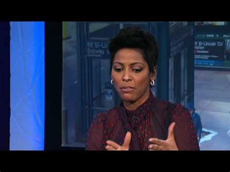 is joy reid of msnbc wearing a weave msnbc s tamron hall calls out sanders caign trump ish