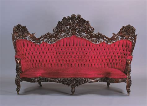 From the Collection?John Henry Belter Sofa   Milwaukee Art