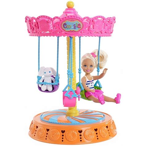 barbie swing barbie chelsea doll and carousel swing thethingamajig com