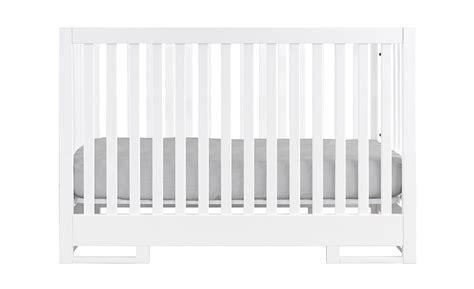 White Modern Crib by Karla Dubois Copenhagen Modern Crib In White