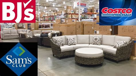 costco sams club bjs furniture sofas couches armchairs shop   shopping store walk