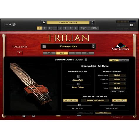 Trilian Spectrasonic Bass Instrument Vsti Vst Plugin Update trilian bass vst torrent