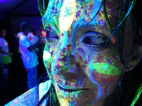 glow in the dark tattoos denver 17 best images about paint party on pinterest glow