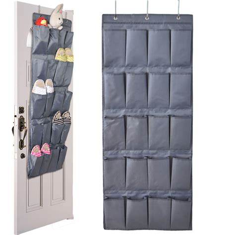 Door Hanging Rack by 20 Pockets Door Hanging Holder Shoe Hanger Organiser Shoe