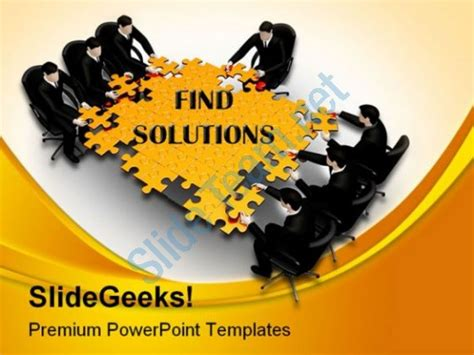 Team Meeting Business Powerpoint Template 1110 On 3d Images Team Of Businessman Search For Team Meeting Powerpoint Templates