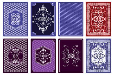 tarot card printing template illustrator free vector background id card designs