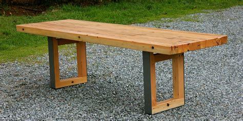douglas fir dining table custom mondo douglas fir dining table by smithson