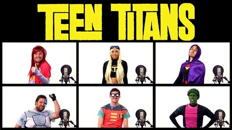 theme music mari teen titans theme song acapella ft mari takahashi