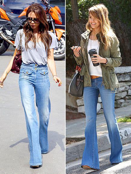 jessica alba flare jeans jessica alba style photos spring style trends on stars