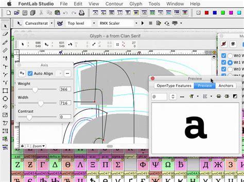 design pro font editor fontlab studio 5 classic pro font editor for mac and windows