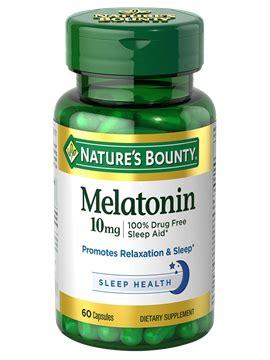 melatonin 10 mg (60 capsules) | nature's bounty be