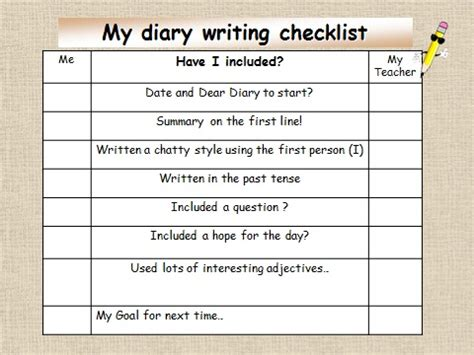 diary entry ks2 powerpoint download to teach ks2 primary