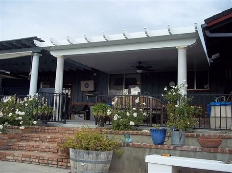 Patio Awnings And Shade Structures by Aluminum Patio Covers Shade Structures