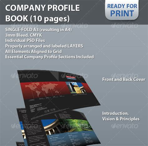 company profile sle design free download 40 high quality brochure design templates web graphic