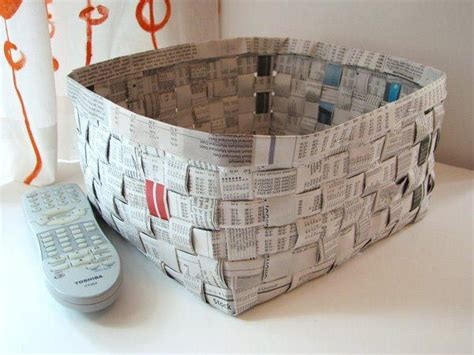 Recycle Paper Crafts - recycling paper for home decor 30 creative craft