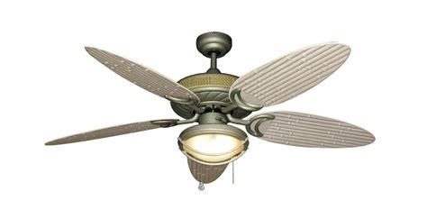 atlantis antique bronze ceiling fan with 52 quot bamboo