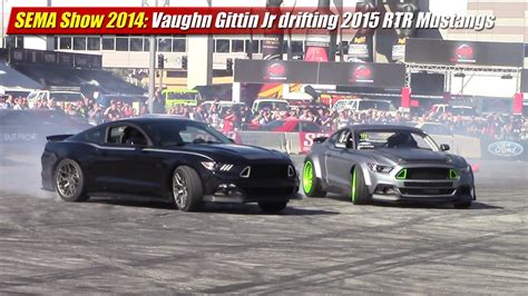 sema 2007 new drift cars sema show 2014 vaughn gittin jr drifting 2015 rtr mustangs
