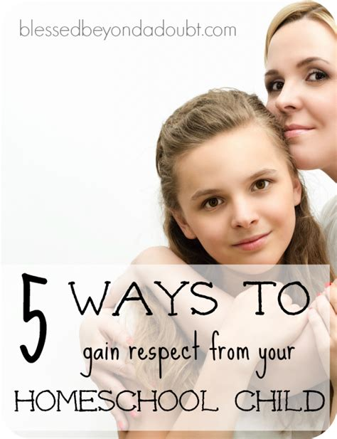 yes you can homeschool the terrified parent s companion to homeschool success books 5 ways to gain respect from your homeschool child you can