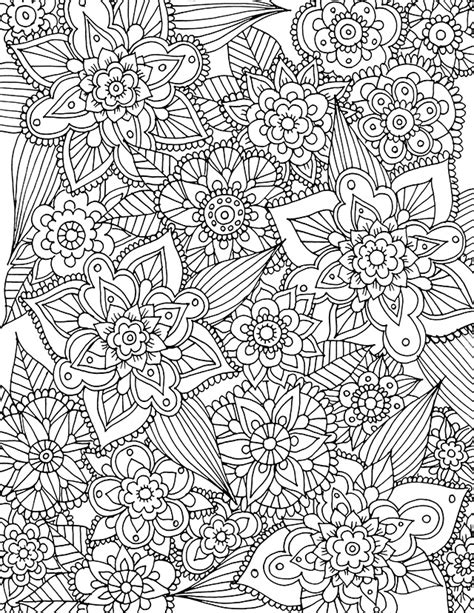 printable spring coloring pages for adults alisaburke free spring coloring page download coloring