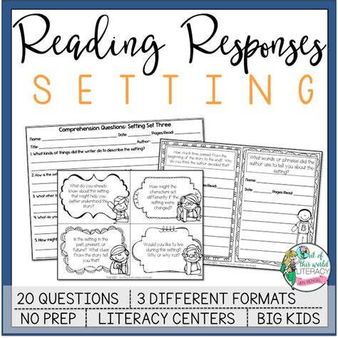 picture books to teach setting 3 books and lessons for teaching setting