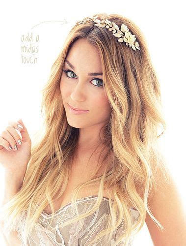 hairstyles accenting the eyes beauty note go for the gold lauren conrad hair and