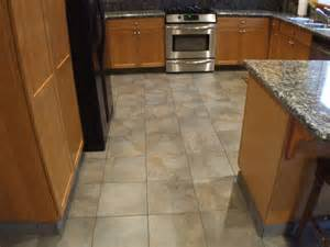 Tiled Kitchen Floors Kitchen Floor Tile Designs For A Warm Kitchen To Traba Homes
