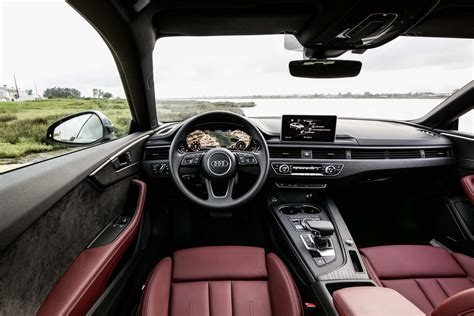 Audi S5 Interior by 2018 Audi A5 S5 Drive Review