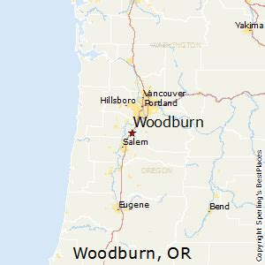 best places to live in woodburn oregon