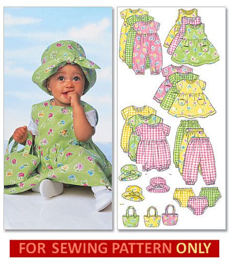 baby boy clothes pattern sewing sewing pattern makes dress romper hat tote mix match