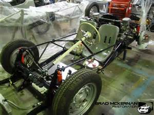 Porsche 550 Chassis Porsche 550 Spyder Chassis Re Creation Brad Mckernan