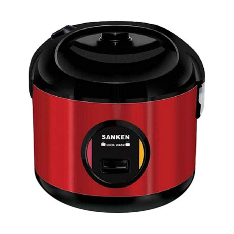 Rice Cooker Mini Sanken jual sanken sj 2800m rice cooker merah 2ltr 6in1