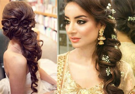 Bridal Side Hairstyles by 60 Traditional Indian Bridal Hairstyles For Your Wedding