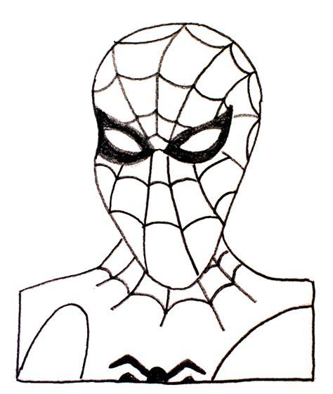 imagenes de spiderman para dibujar faciles dibujos f 225 ciles a l 225 piz pintando a los superh 233 roes