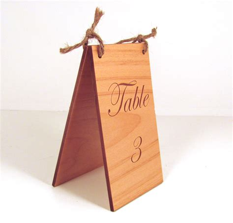 woodworking directory custom engraved wood table numbers