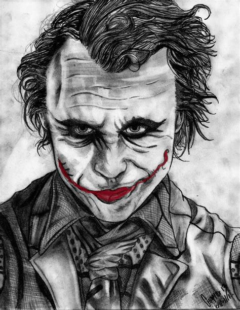 imagenes del guason para dibujar faciles quot the joker smile quot por chapter13wicked dibujando