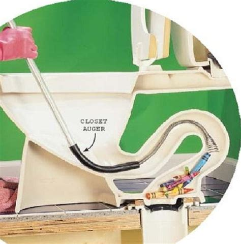 unclog toilet with auger crayons unclog toilet without