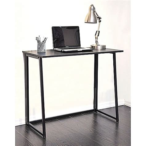 bed bath and beyond desk wooden writing desk in black bed bath beyond