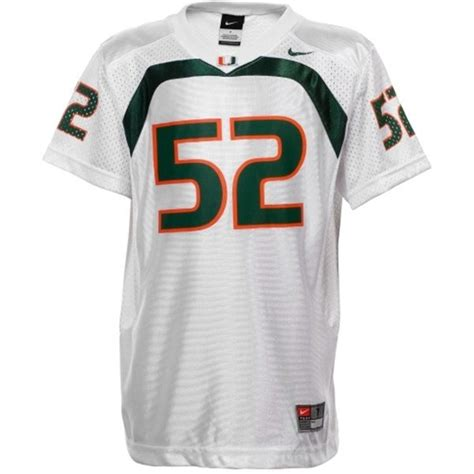 replica white ed reed 20 jersey a lifetime p 164 s nike lewis miami hurricanes 52 replica white jersey