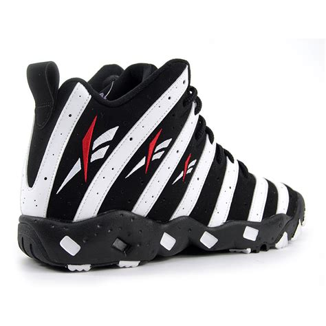 reebok basketball sneakers reebok big hurt frank black white classic