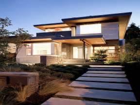 modern house design brick volume simple rectangular