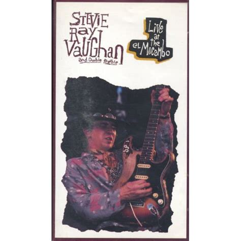 stevie ray vaughan double trouble    el mocambo vhs pal discogs