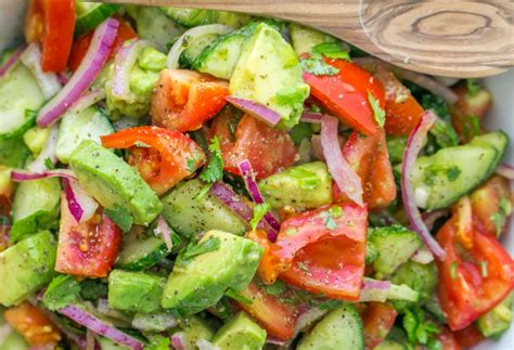 Cucumber Detox Salad by Is Going Mad For This Simple Delicious