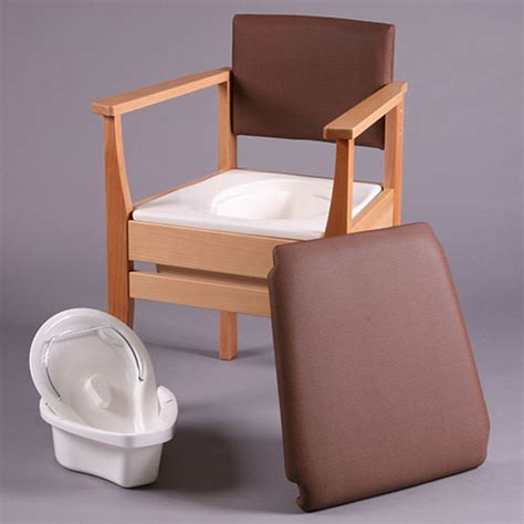 bedroom commode chair rich brown deluxe commode chair deluxe commode chairs
