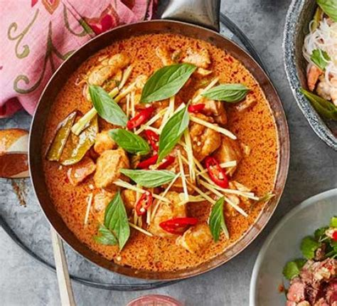 Pasta Dishes by Thai Red Curry Recipe Bbc Good Food