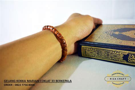 Gelang Tasbih Dari Kayu Kokka jual gelang tasbih kayu kokka kaukah asli turki