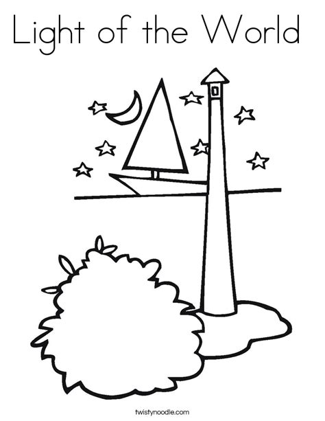 light of the world free coloring pages on art coloring pages